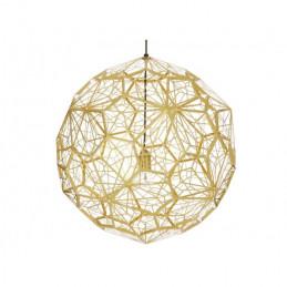 Lampa wisząca Etch Web Brass Tom Dixon