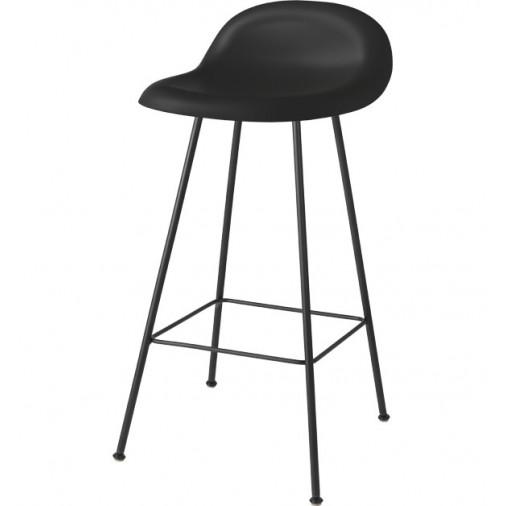 Krzesło barowe na czterech nogach 3D Gubi