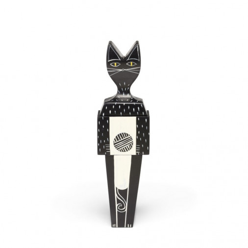 Figurka Wooden Doll Cat Vitra