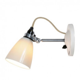 Lampa ścienna Hector Small Dome SW BTC