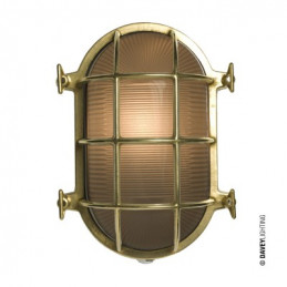 Lampa ścienna Oval Brass Bulkhead Davey
