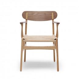 Krzesło CH26 z siedziskiem ze sznura - Carl Hansen & Søn