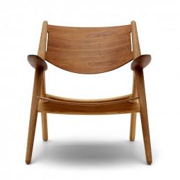 Drewniany fotel CH28T Carl Hansen & Søn