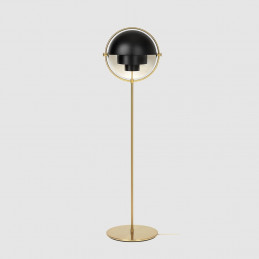Lampa podłogowa Multi-Lite Brass Gubi