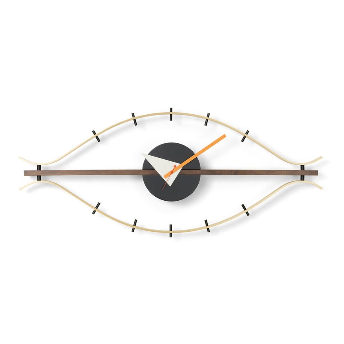 Imitujący ludzkie oko zegar ścienny Eye George Nelson Vitra