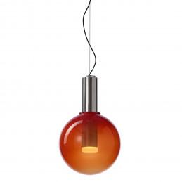Srebrna lampa wisząca Phenomena 02 Bomma