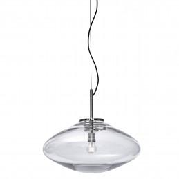 Szklana lampa wisząca Disc 01 Bomma