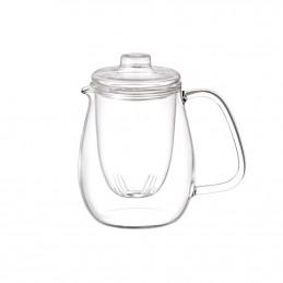Szklany czajnik do herbaty Unitea Teapot Set L KINTO