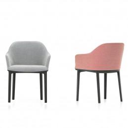 Tapicerowane krzesło Softshell Vitra