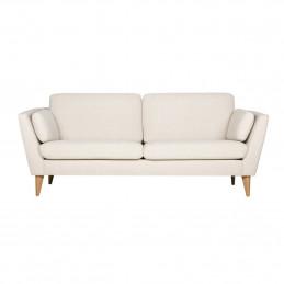 W poszyciu z tkaniny na stałe sofa Mynta Sits