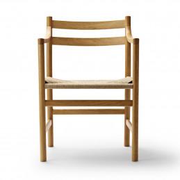 Drewniane krzesło CH46 Carl Hansen & Søn