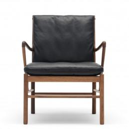 Czarny fotel Colonial OW149 Carl Hansen & Søn