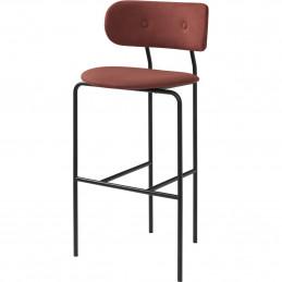 Tapicerowane krzesło barowe Coco Gubi