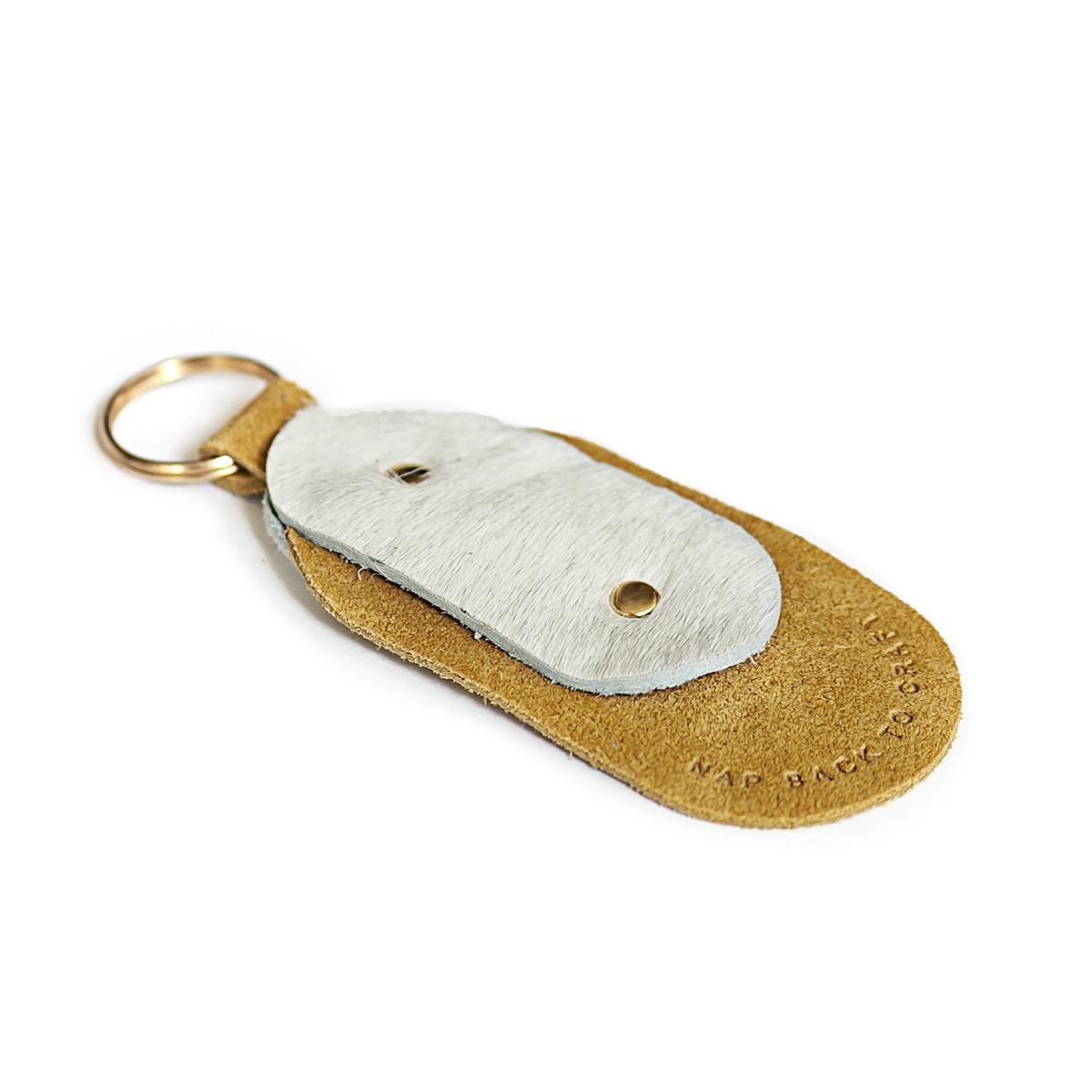 Żółty brelok do kluczy NAP