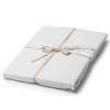 Dwustronny komplet pościeli 220x200 cm Sintra white Take a NAP tylko z naturalnych materiałów.