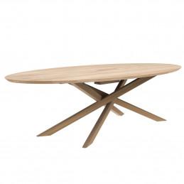 Dębowy stół konferencyjny Mikado Ethnicraft