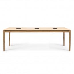 Dębowe biurko Bok Cowork Oak CEE7/3 230V, 16A Ethnicraft