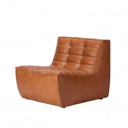 Skórzany fotel N701 Old Saddle Ethnicraft