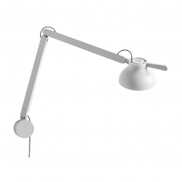 PC DOUBLE ARM W. WALL BRACKET lampa ścienna HAY