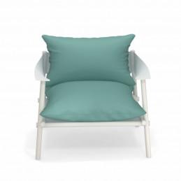 Fotel ogrodowy z poduszkami Terramare 729+C/729 Emu