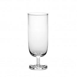 Minimalistyczna szklanka na piwo Base Serax