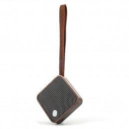 Designerski drewniany głośnik kieszonkowy Mi Square Walnut Gingko