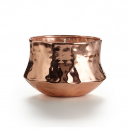 Zapachowa świeca Talisman Metal Coconut Milk Mango Copper Rose Illume