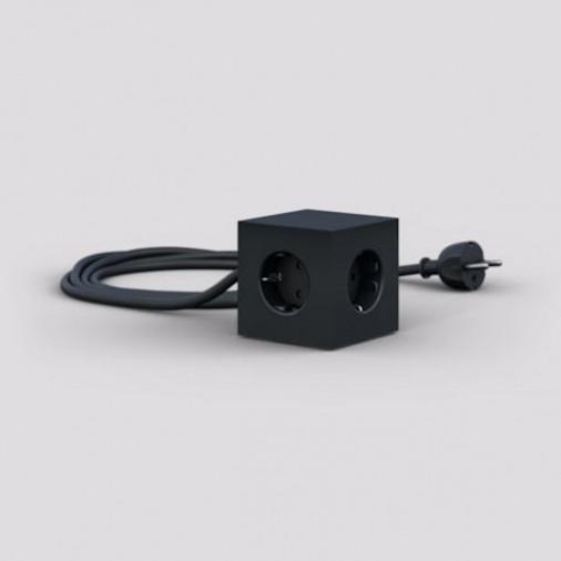 Listwa elektryczna Stockholm Black/ USB & Magnet Version Avolt