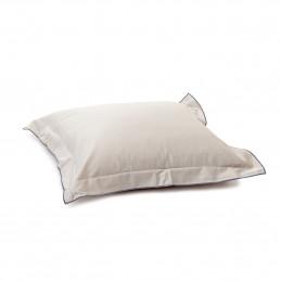 Poszewka na poduszkę 40x40cm beige Classic Satin take a NAP