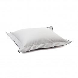 Poszewka na poduszkę 40x40 cm grey Classic Satin take a NAP
