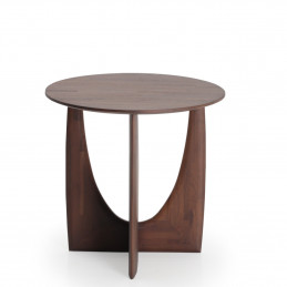 Stolik Geometric Teak brown varnished Ethnicraft