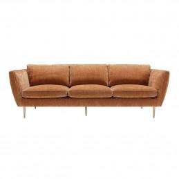 Komfortowa sofa dwuosobowa Teddy Sits