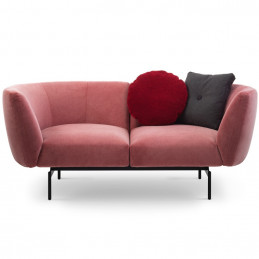 różowa sofa rendez-vous