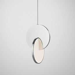 Chromowana lampa wisząca Eclipse Lee Broom