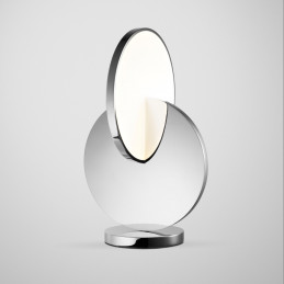 Chromowana lampa stołowa Eclipse Lee Broom
