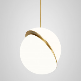 Akrylowa lampa wisząca Crescent Lee Broom