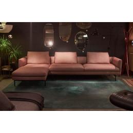 Outlet! Sofa Flamingo + szezlong Zanotta