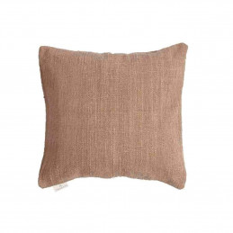 Cushion Handwoven Light Brown 50x50