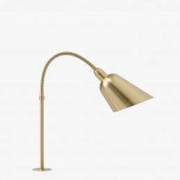Lampa biurkowa Bellevue AJ10  z mosiężnym wykończeniem marki &Tradition