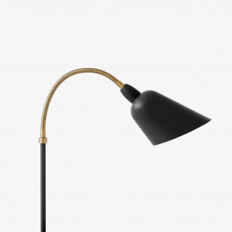 Czarna lampa biurkowa Bellevue AJ10 &Tradition