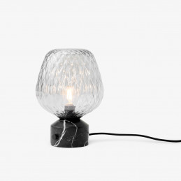 Lampa stołowa Blown SW6  Silver & Black Marble marki &Tradition