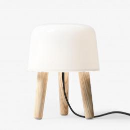 Lampa stołowa Milk NA1 natural ash - &Tradition