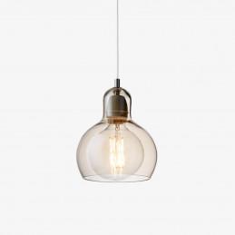 Lampa wisząca Mega Bulb SR2 ze złotym kloszem - &Tradition