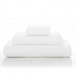 Bawełna ręcznik kąpielowy 70x140cm Wild Waffle WHITE Sorema