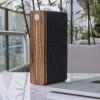 Funkcjonalny głośnik przenośny HIFI Square Bluetooth Speaker - Walnut Gingko