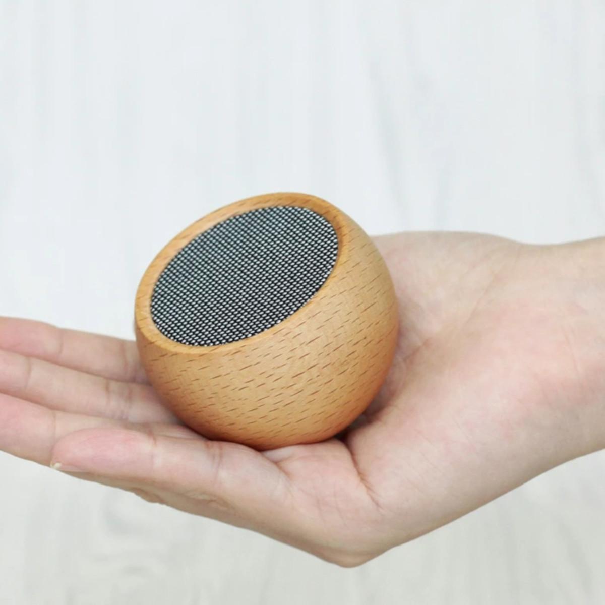 Mały głośnik Tumbler Selfie Speaker - Maple Gingko