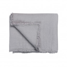 PURE 08 Embroider Steel Grey Bed Cover 260/260