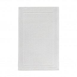 Bawełniany dywanik łazienkowy white 50x80 Waffle Sorema