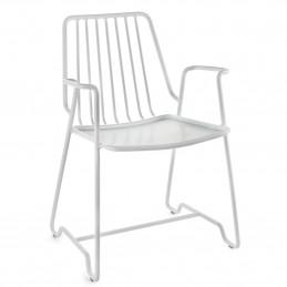 Aluminiowy fotel Fish&Fish 55x48 H78 Alu Serax