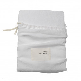 Washed Linen Optical White